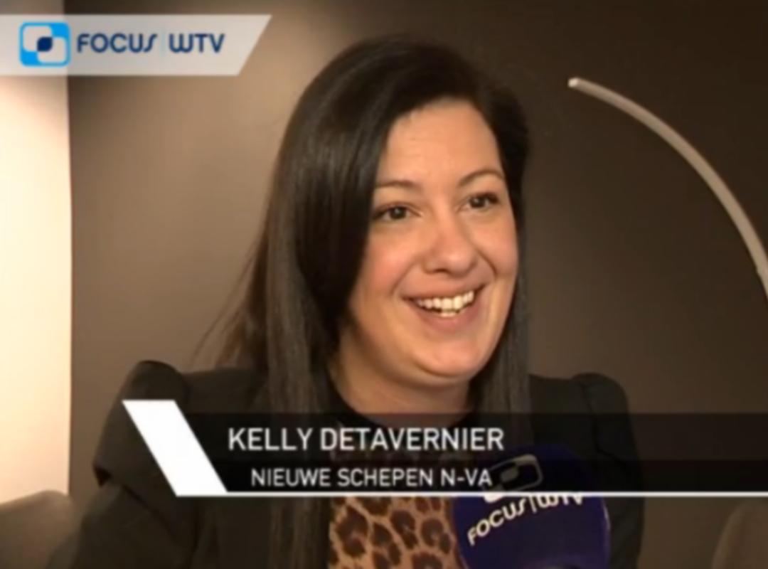 Kelly Detavernier nieuwe schepen